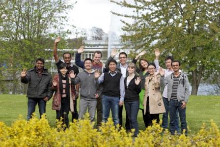 HITEC doctoral candidates 2012